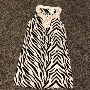 Gymboree Zebra Print girls dress